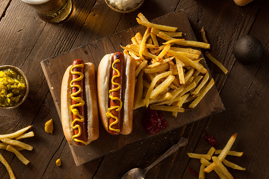 recette hot dog new york sauce cheddar