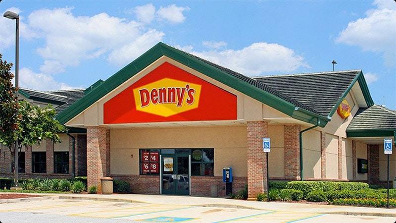 restaurant denny's aux usa