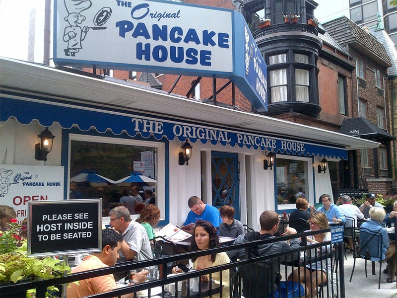 restaurant de petit déjeuner aux USA Original Pancake House