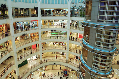 centre commercial américain