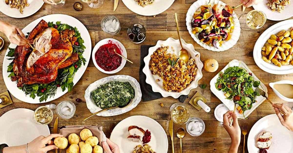 Les 9 meilleures recettes de thanksgiving blog usa - Repas de noel americain ...