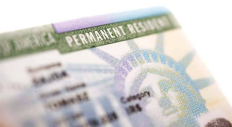 passeport green card