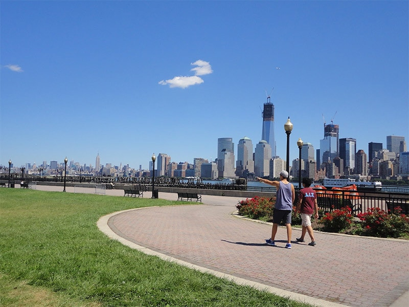 liberty state park new jersey