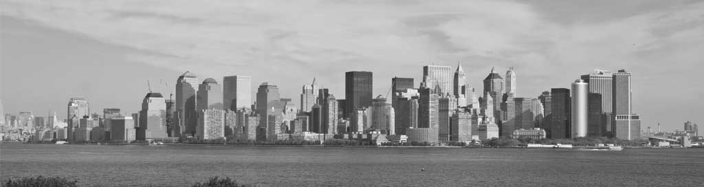 Skyline de la ville de New York
