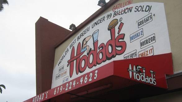 hodads restaurant hamburger san diego californie