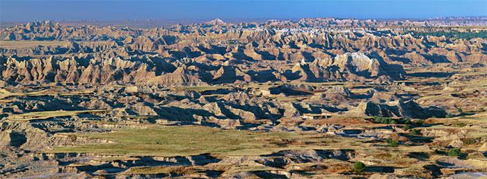 Badlands National Park Dakota du Sud
