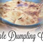 Recette Apple Dumpling Cobbler – Dessert typique américain