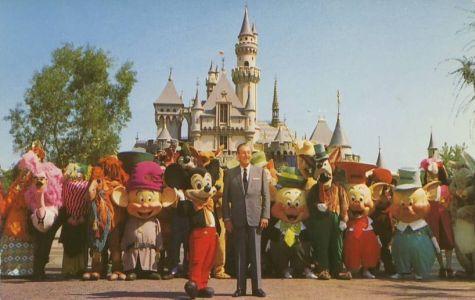Walt Disney et Mickey inaugure Disneyland