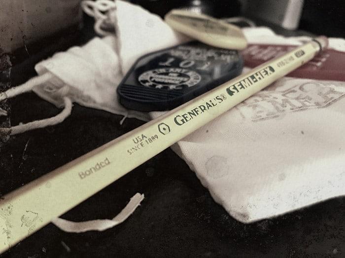 crayon general's comptoir américain