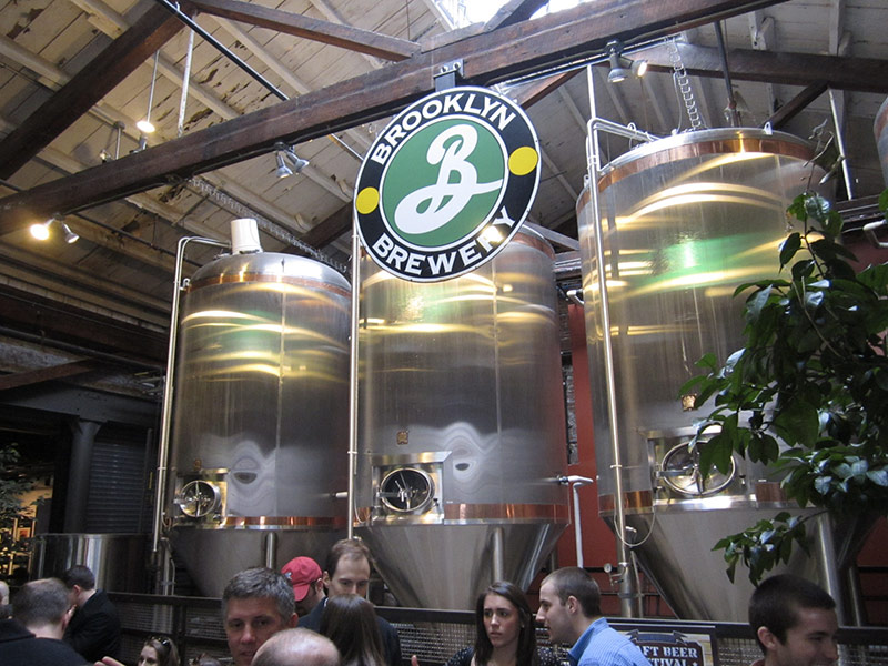 Brooklyn Brewery Tour à New York