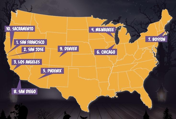 Les Meilleurs Quartiers Pour F 234 Ter Halloween Aux Usa Selon
