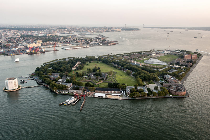 Governor's Island à New York