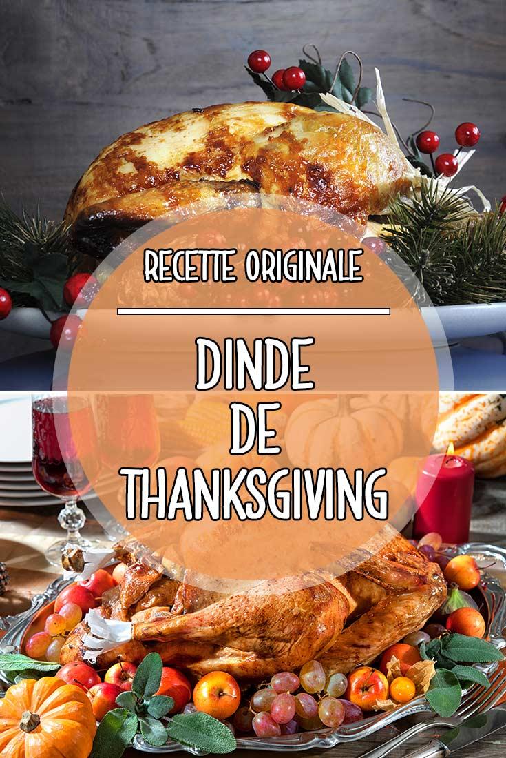 La recette originale de la Dinde de Thanksgiving comme aux USA