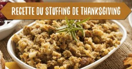 recette du stuffing de thanksgiving