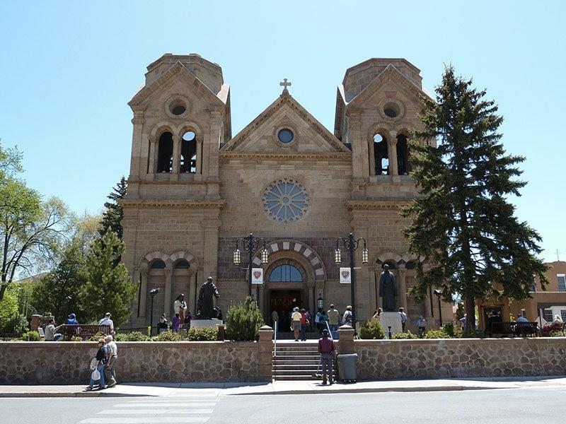 Basilique Saint Francois d'Assise à Santa Fe, Nouveau Mexique