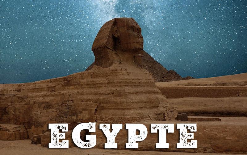 Le Sphinx en Egypte