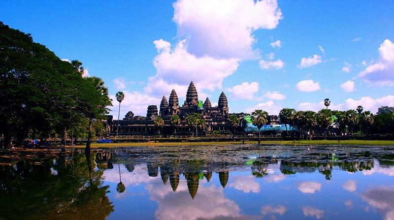 Temple d'Angkor au Cambodge