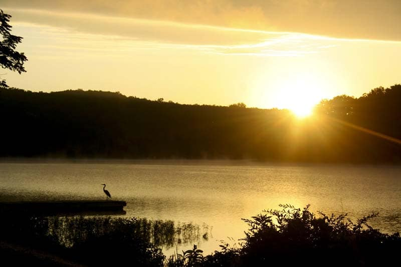 Lac des Ozark Missouri