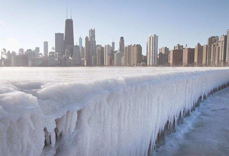 Chicago en hiver