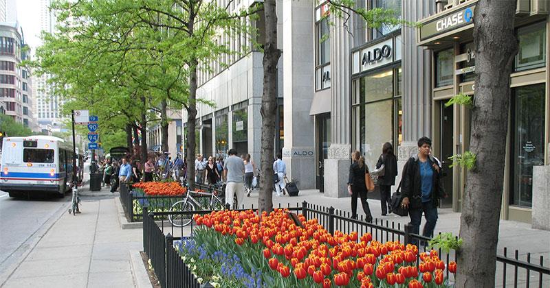 Michigan Avenue à Chicago