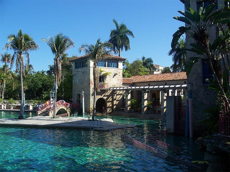 Quoi faire à Miami ? Se baigner dans la Venetian Pool