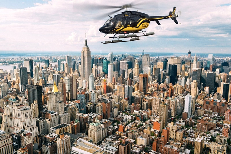 Helicoptere JFK Manhattan