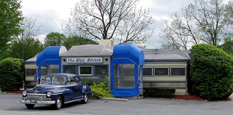 Blue Benn, Bennington, Vermont