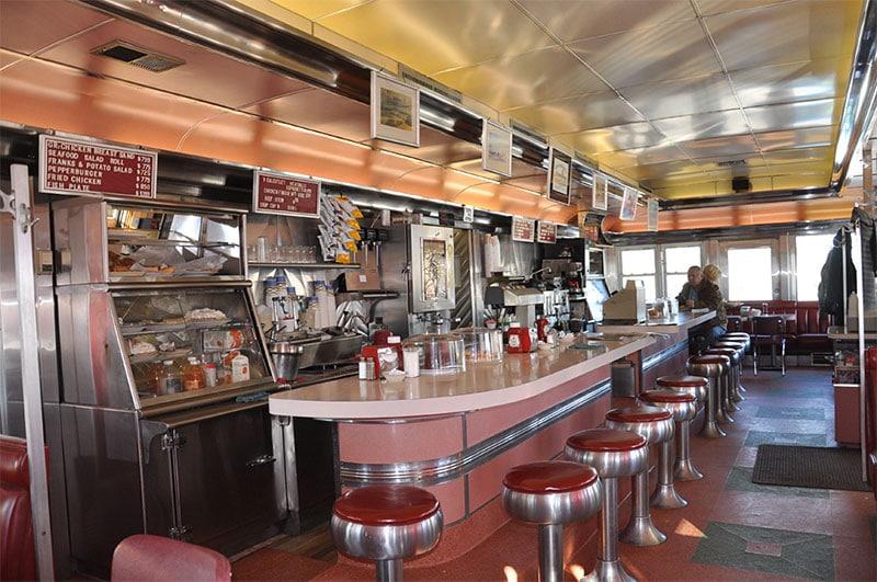 Agawam Diner à Rowley dans le Massachusetts