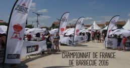 Championnat de France de BBQ avec Weber