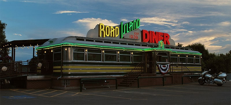 Road Island Diner, Oakley, Utah