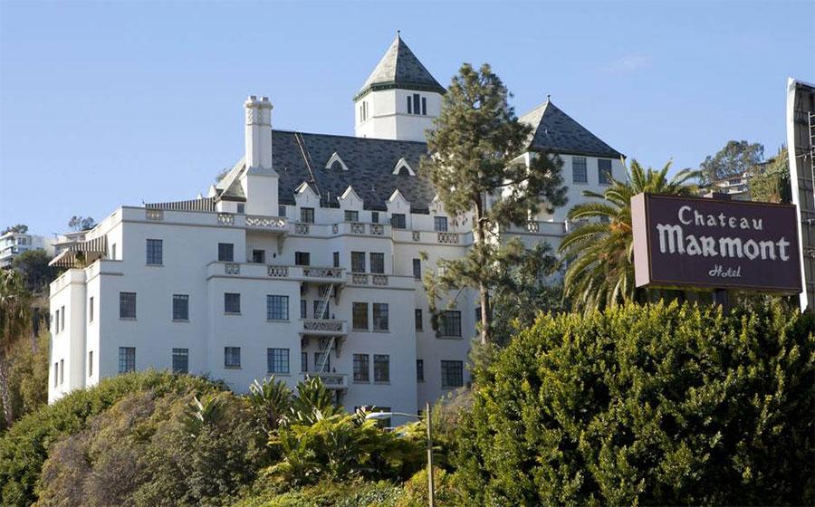 Chateau Marmont à Los Angeles Californie