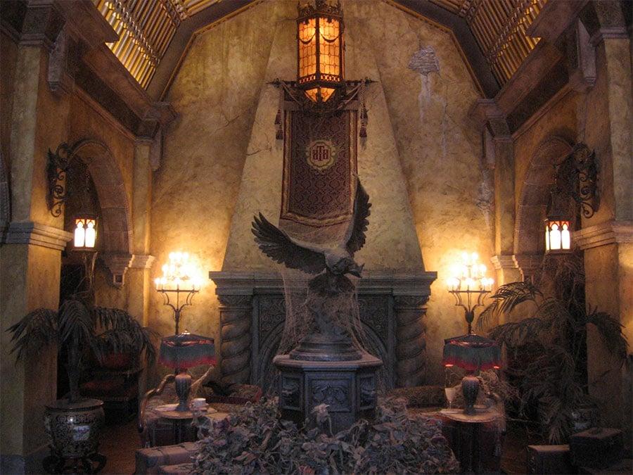 Lobby de la Hollywood Tower Hotel à Hollywood Studios