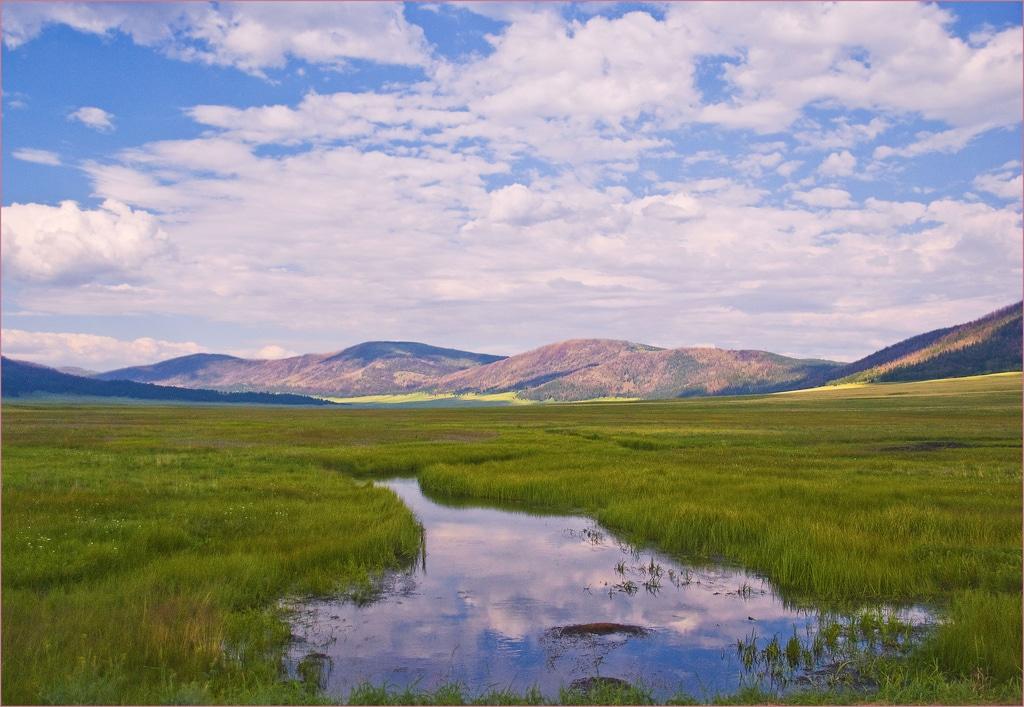 Rivière à Valles Caldera National Preserve