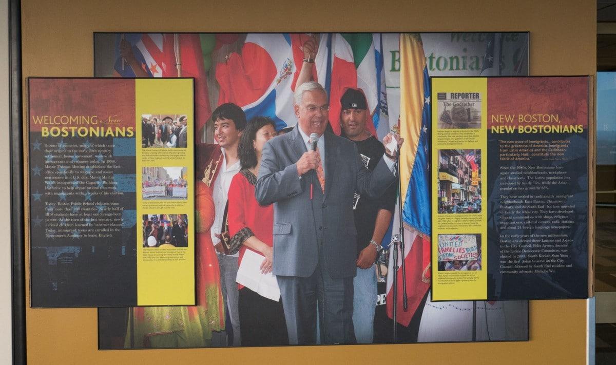 Exposition sur l'immigration US