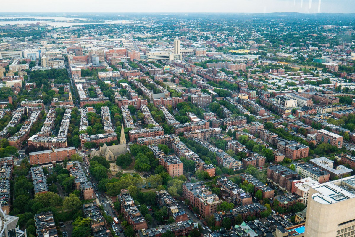 Les maisons typiques de Boston