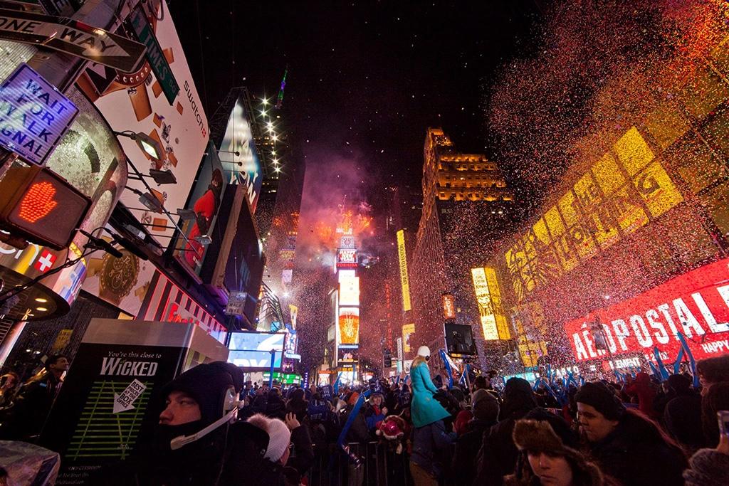 Nouvel An à Times Square