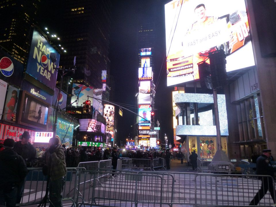 Times Square Nouvel An