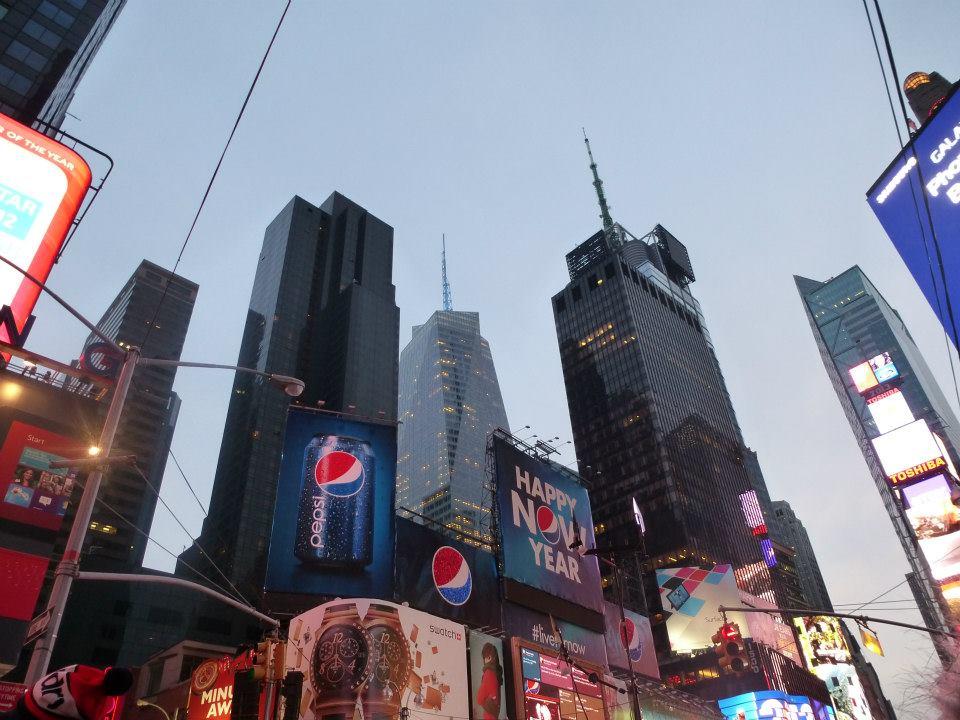 Réveillon du Nouvel An à Times Square