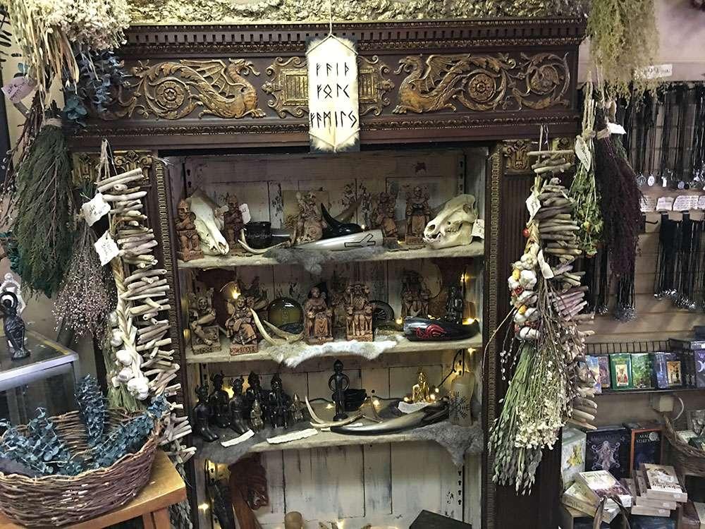 Boutique de Sorcellerie à Salem