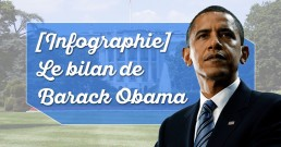 Infographie sur le bilan de Barack Obama