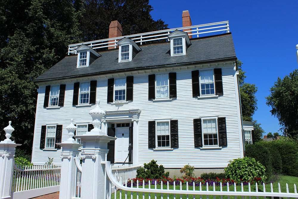 Ropes Mansion à Salem
