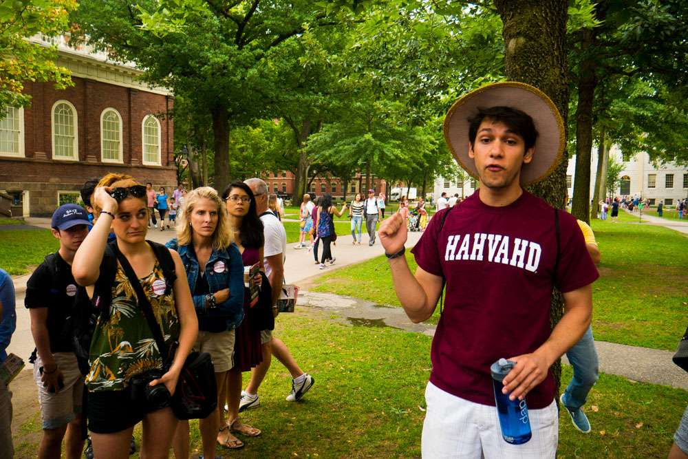 Guide de la visite d'Harvard
