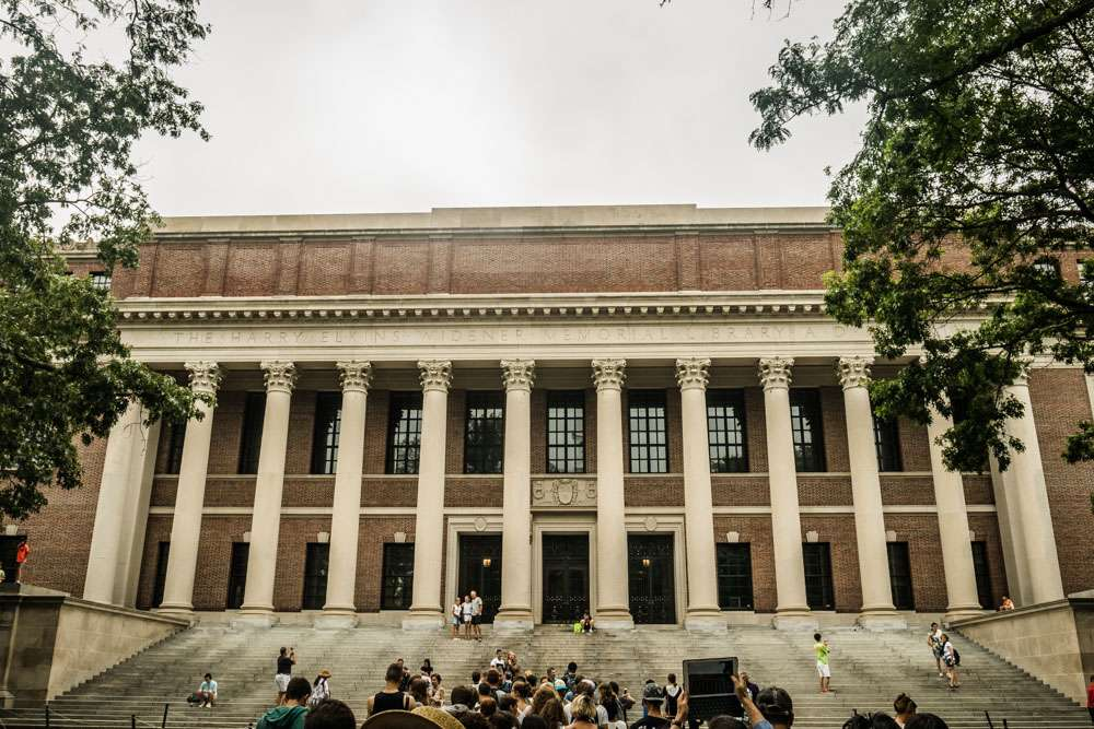 Widener Library à Harvard