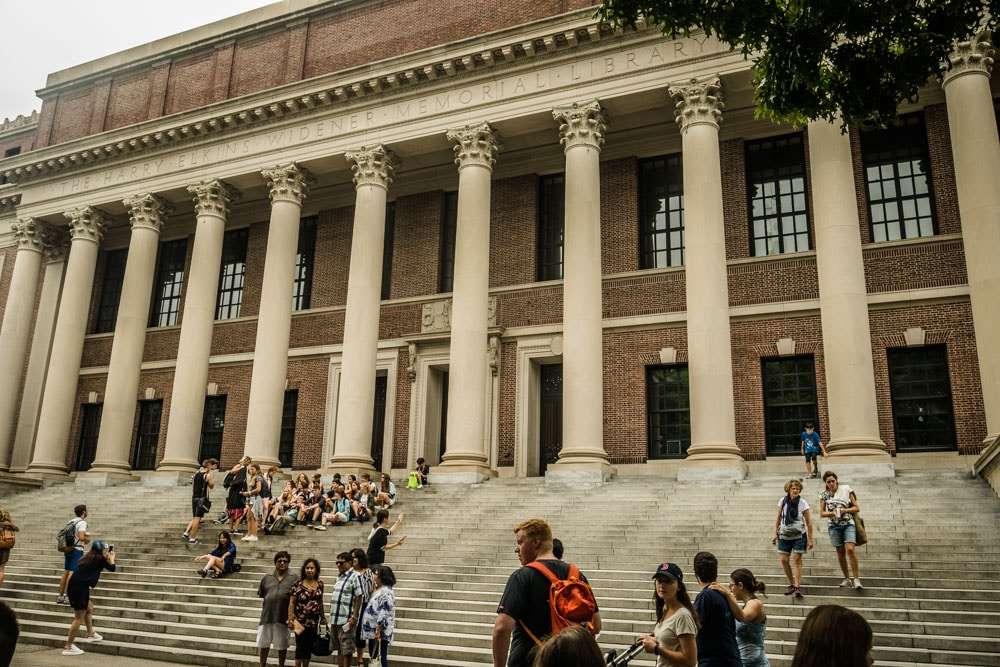 Bibliothèque Widener Harvard