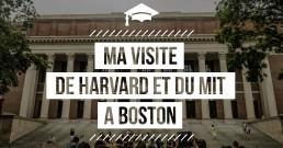 Visite de Harvard et du MIT