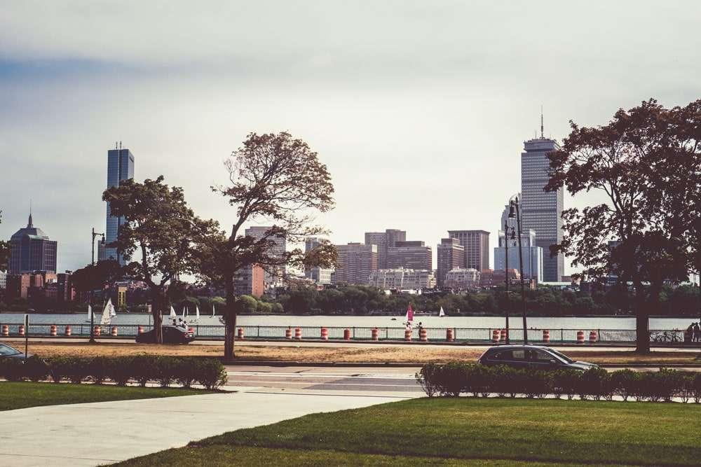 Vue de Boston depuis le MIT