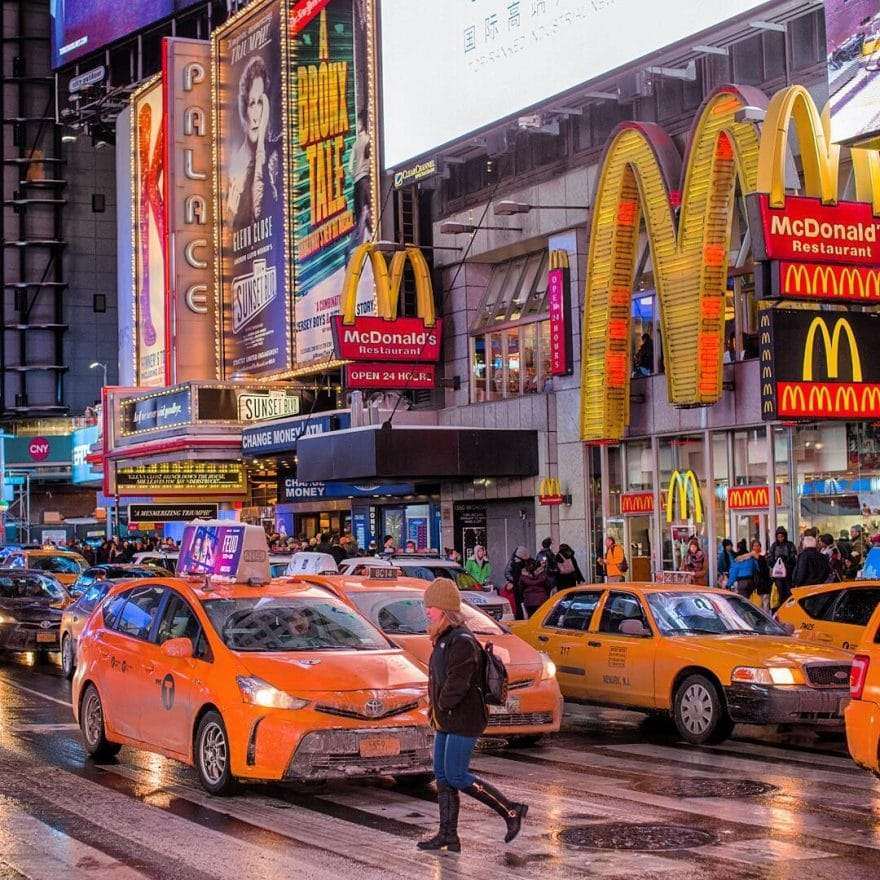 Times Square par Matt Chimera