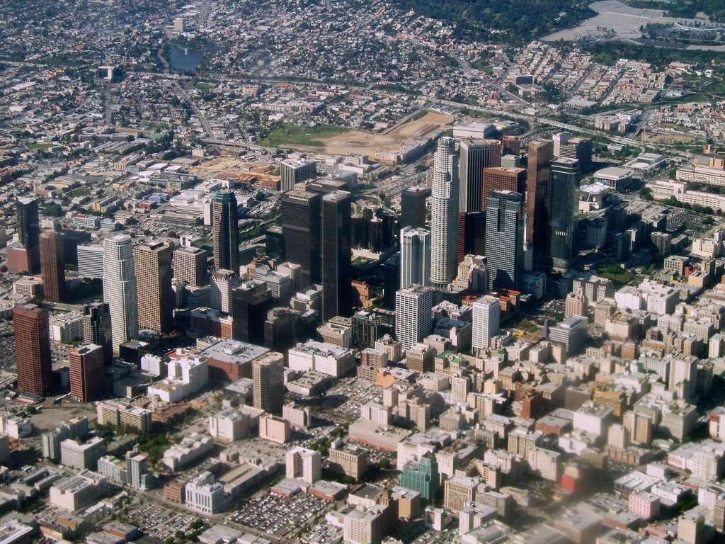 Los Angeles vue d'avion