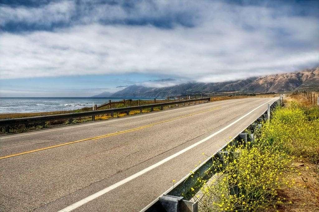 La Pacific Coast Highway en Californie