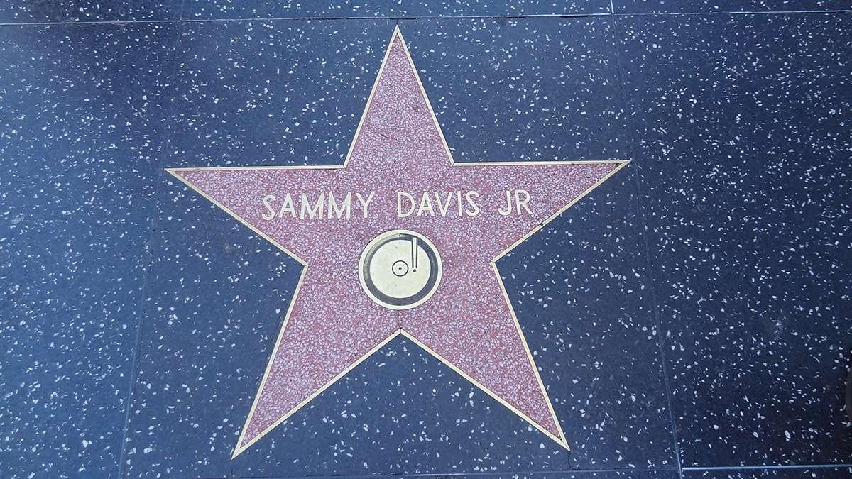 Etoile de Sammy Davis Jr